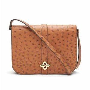 Banana Republic ostrich purse